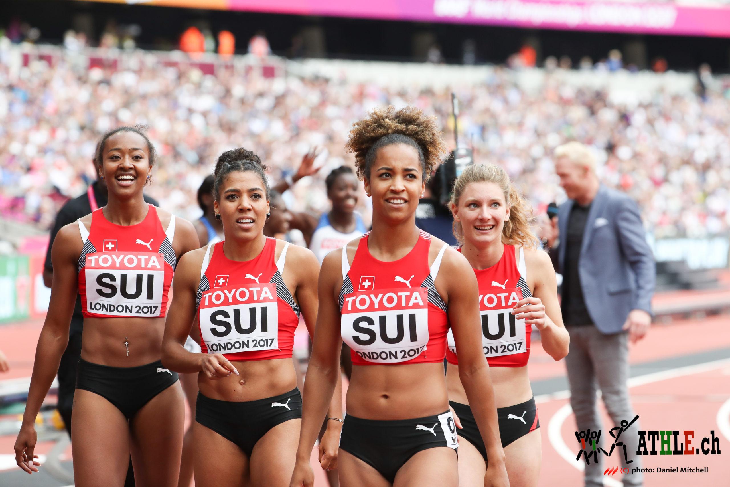endlauf 100 meter london 2017