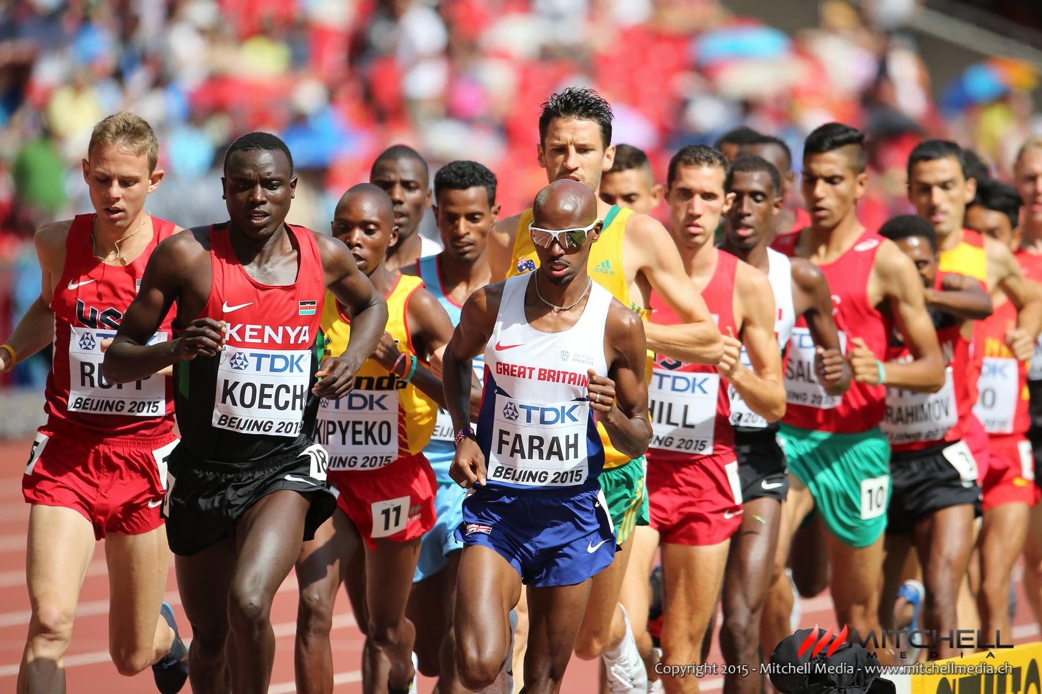5000 m hommes, séries
