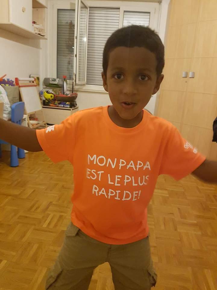 Tade Abraham pourra compter sur le soutien de son fils depuis Genève.
